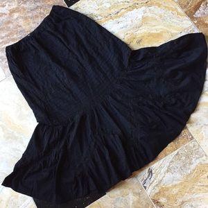 Gypsy boho Festival mermaid fitted/flared hem